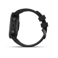 Fenix 5X Plus Sapphire чорні з чорним ремінцем