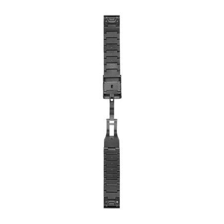 Титановий браслет QuickFit 22 Carbon grey DLC titanium