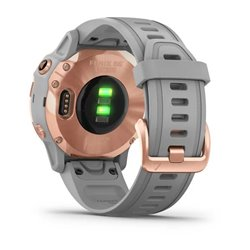fenix 6S - Rose Gold-tone with Powder Gray Band