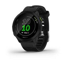 Смарт-годинник Garmin Forerunner 55 з чорним ремінцем