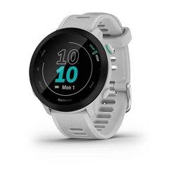 Смарт-годинник Garmin Forerunner 55 з білим ремінцем