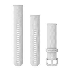 Швидкозмінні ремінці Garmin силіконові (20 мм) білі