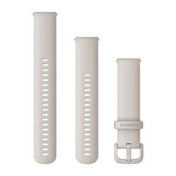 Швидкозмінні ремінці Garmin силіконові (20 мм) світло-пісочні