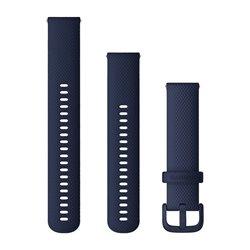 Швидкозмінні ремінці Garmin силіконові (20 мм) темно-сині