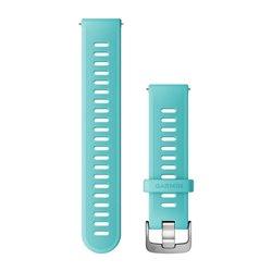Швидкозмінні ремінці Garmin силіконові (20 мм) бірюзові
