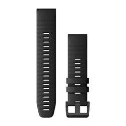 Ремінці для годинника Garmin QuickFit 22 силіконові, чорні