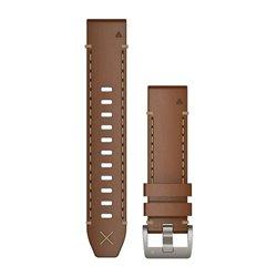 Ремінці для годинника Garmin QuickFit 22 шкіряні, італійські